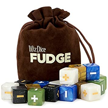 20 Fudge Dice GM Starter Pack: Terrestrial | 5 Sets of 4 Fudge Dice | Compatible with Fate or FAE Rulesets | Tabletop Role-Playing Game Dice | ...