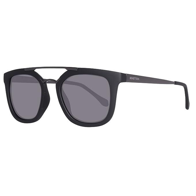 BENETTON BE992S01, Gafas de Sol Unisex, Black/Gunmet 50 ...
