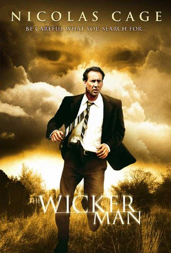 The Wicker Man Movie Poster (27 x 40 Inches - 69cm x 102cm) (2006) Netherlands -(Nicolas Cage)(Ellen Burstyn)(Kate Beahan)(Frances Conroy)(Molly Parker)(Leelee Sobieski) (Nicolas Cage Wicker Man)