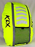 KLX Heavy Duty High Visibility Reflective Waterproof Rucksack Backpack Cover - New Improved