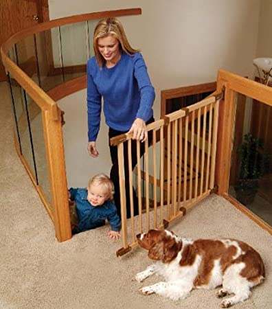 KidCo G2300 Wood Safeway Angle Mount Gate