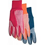 MIDWEST QUALITY GLOVES 522D4 Combination Jersey & Cotton Canvas Gloves