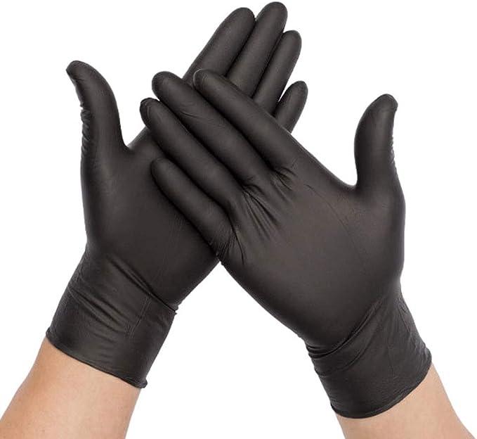 Coherny Disposable Nitrile Latex Rubber Plastic PVC Gloves Blue 100 pcs//bag