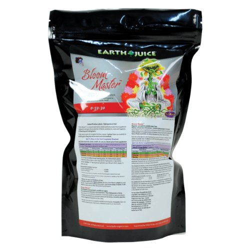 HydroOrganics HOH37272 Earth Juice Bloom Master 0-50-30 , 3-Pound