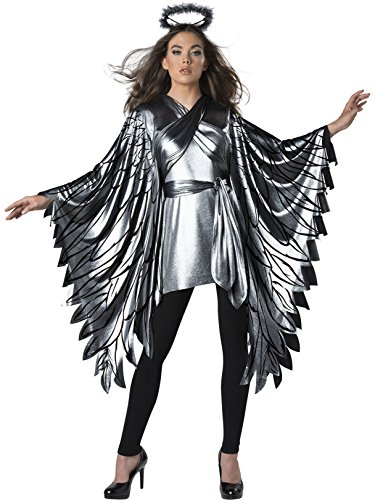 InCharacter Fallen Angel Poncho Women's Costume (One