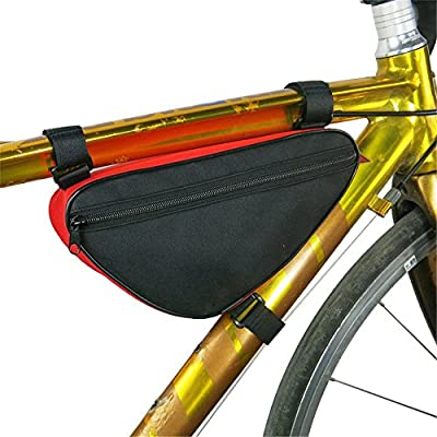 Paquete de cuadro de bicicleta Bolsa de bicicleta Bolsa de sillín ...