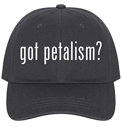 (The Town Butler got Petalism? - A Nice Comfortable Adjustable Dad Hat Cap, Dark Grey)