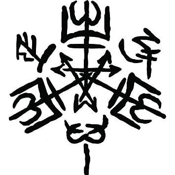 Purgatorio Sigil Symbol Supernatural Angel Vinyl Sticker Decal for Car  Laptop Windows (5 5