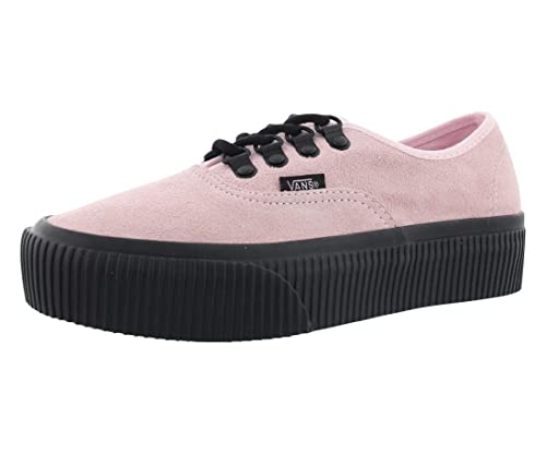 775c0438f640ba Vans Authentic Platform (Embossed) Fashion Sneakers chalk Pink Black Size 6  Men 7.5 Women  Amazon.ca  Shoes   Handbags