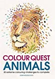 Colour Quest Animals (Colouring Books)