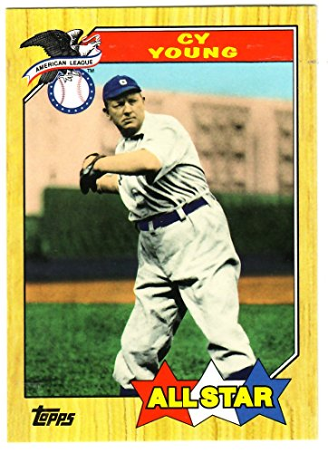 Cy Young Baseball Card - 2010 Topps Vintage Legends Collection #VLC23 Cy Young - Baseball Card