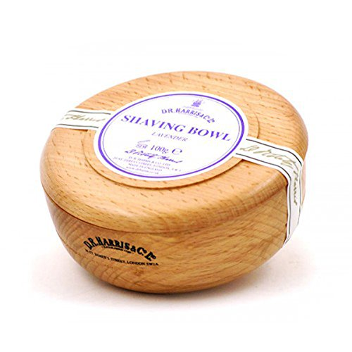 D R Harris Lavender Shaving Soap in Beech Wood Bowl 100g Healthcenter