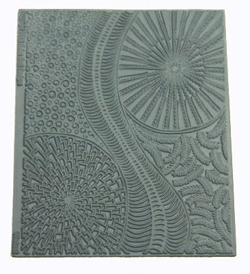 Watusi Texture Stamp by Helen Briel
