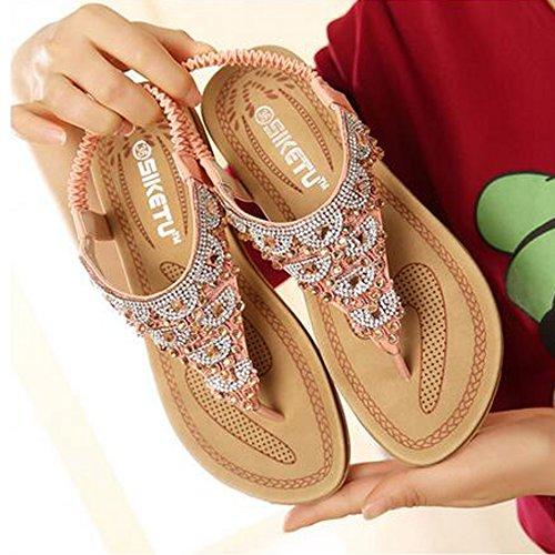 Rosa Sunavy Tacón Zapatos De Mujer RIUvUHfq