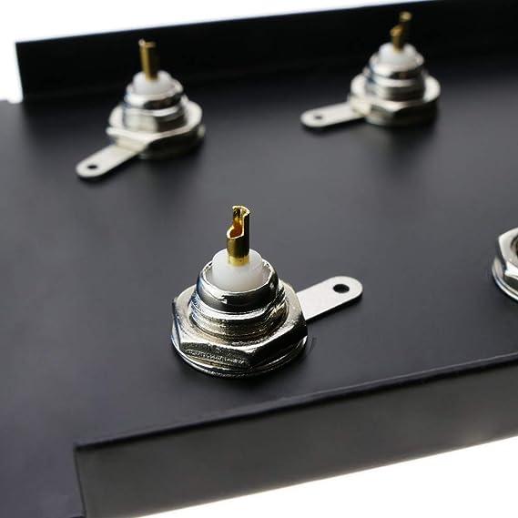 Bematik Patchpanel Rack19 24 Port Bnc Buchse 2he Elektronik