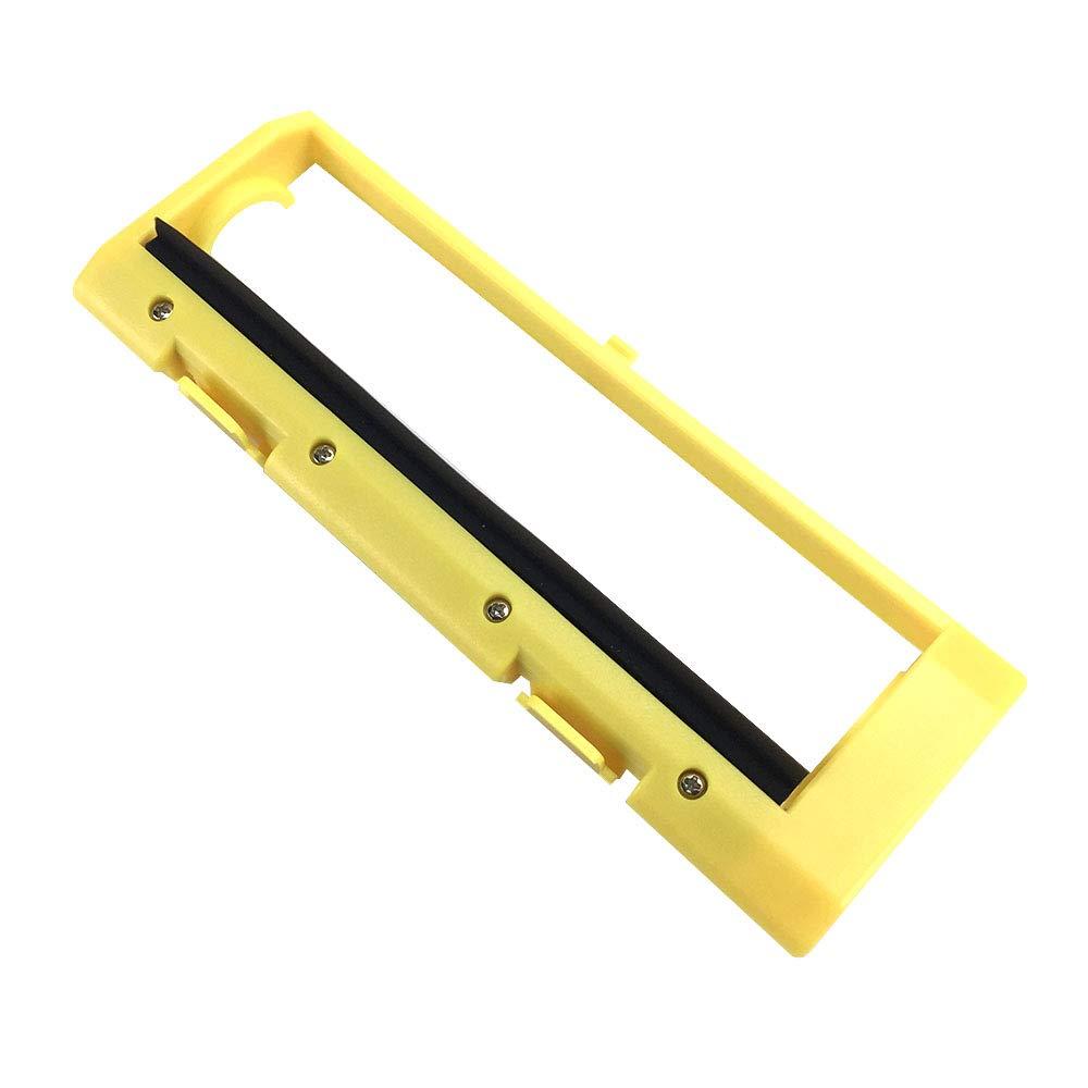 Weehey Placa de Cubierta del Cepillo del Rodillo Principal de 1 Pieza Compatible con la Aspiradora Ilife A4 A4S A6