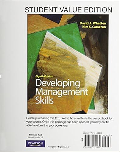 Amazon Developing Management Skills Student Value Edition Plus