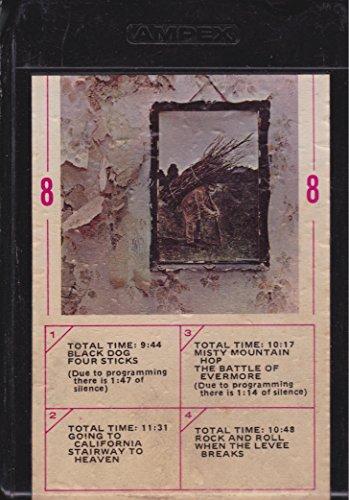 (Led Zeppelin - IV - Original Atlantic 8-Track Tape Stereo - Catalog M87208)