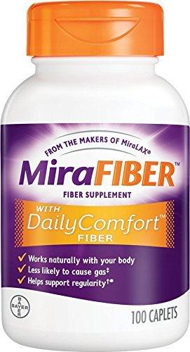 Mirafiber 500mg Caplet 10 Size 100ct