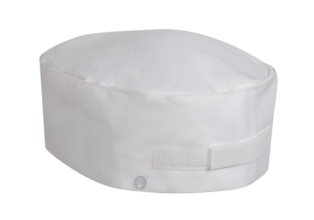 Chef Works Double-Rimmed Chef Beanie (DRWH) DRWH-WHT-0