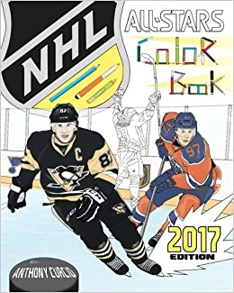 NHL All Stars 2017 Hockey Coloring and Activity Book for Adults