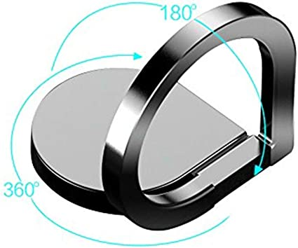 S8 Plus B Cell Phone Stand Tablet Cradle Cell Phone Finger Ring Holder//Stand Phone Ring 360 Rotation//Car Mount Finger Ring Grip for iPhone 7 Plus iphone8 Plus iPhone X Samsung Galaxy Edge