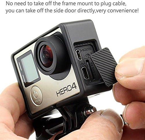 GP101 GoGoRc Standard Border Frame Mount Protective Housing Case for GoPro Hero 3 3+4