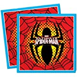 Ultimate Spiderman Napkins, Pack of 20