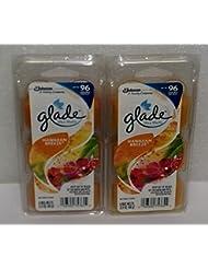 (2 Pack) Glade Limited Edition - Hawaiian Breeze - Wax Melts, 6 each
