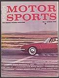 avanti motor - MOTOR SPORTS Studebaker Avanti Zandvoort GP Ferrari 250 GT Cotati Buick + 8 1962