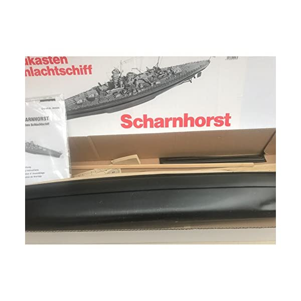 Aeronaut (AN3625/03 Scharnhorst Model Boat Kit with Fittings