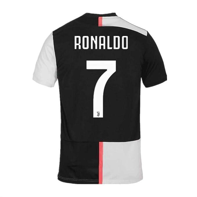 Amazon.com: JUVE-JS Juventus #7 Cristiano Ronaldo - Camiseta ...
