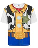 Toy Story Disney Childrens Boys Woody Costume T-Shirt (5-6 Years) (White)