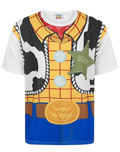 Toy Story Disney Woody Costume Boy's T-Shirt (9-10 Years)