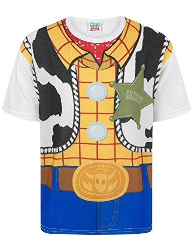 Toy Story Disney Woody Costume Boy's T-Shirt (3-4