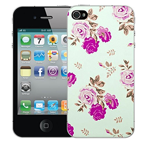 Mobile Case Mate iPhone 5s Silicone Coque couverture case cover Pare-chocs + STYLET - Roselet pattern (SILICON)