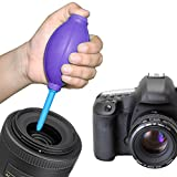 New Rubber Air Pump Cleaner Dust Blower for Keyboard,Digital SLR Camera, Lens, Watch, Cell Phone, Computer Laptop PC and Screen - Purple