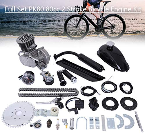 Upgrade 80cc 2 Stroke Cycle Motor Kit Motorized Bike Kit