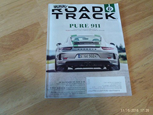 (Road & Track Magazine October 2016 | Porsche's Remarkable 911 R)