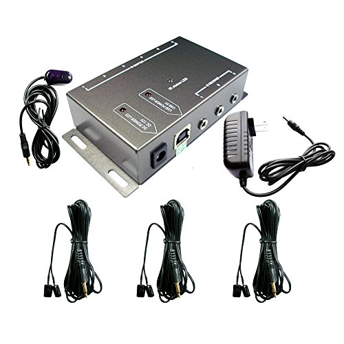 - IR Repeater,IR Remote Control Extender,Infrared Repeater System (3 Dual Head ir emitter)