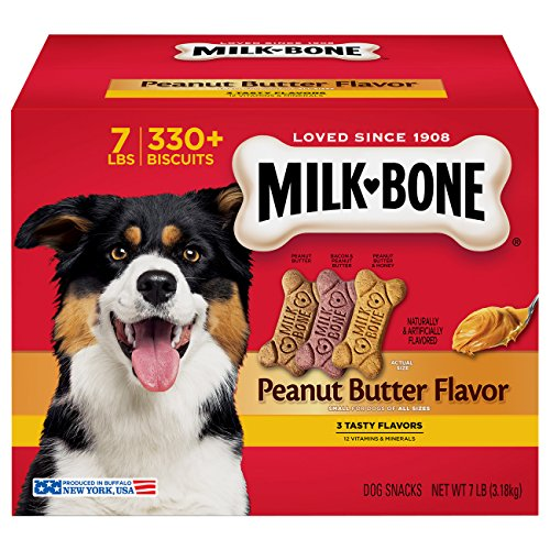 Milk-Bone Peanut Butter  Dog Treat, Small (Dog Biscuit Bone)