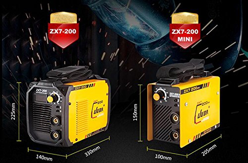 Enbeautter Whole Copper MINI Welder 170V-260V IGBT Portable Welding Inverter MMA ARC ZX7-200 Welding Machine (USZX7-200) - - Amazon.com
