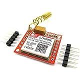 xcluma Sim800L Gprs Gsm Module Microsim Card Core Board Quadband Ttl Serial Port