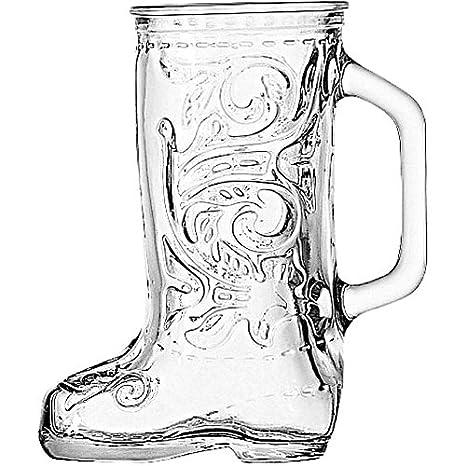 Anchor Hocking Glass Cowboy Boot Mug SYNCHKG031338
