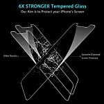 Syncwire Screen Protector for iPhone 11, iPhone XR (3-Pack), Anti-Fingerprint Tempered Glass Screen Protector (9H…
