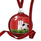 Christmas Decoration Soccer Team Flag Hamburg region Germany Ornament