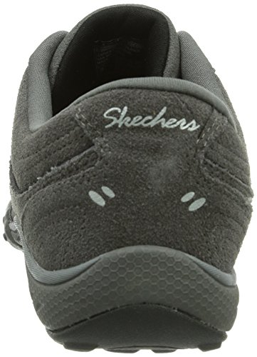 Skechers Breathe-Easy, Sneakers basses femme Gris - Grau (Gybk)