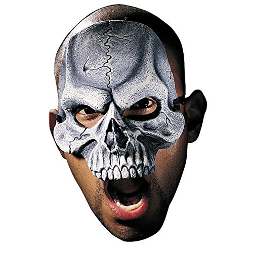 Disguise Costumes Skull Vinyl Chinless Mask,