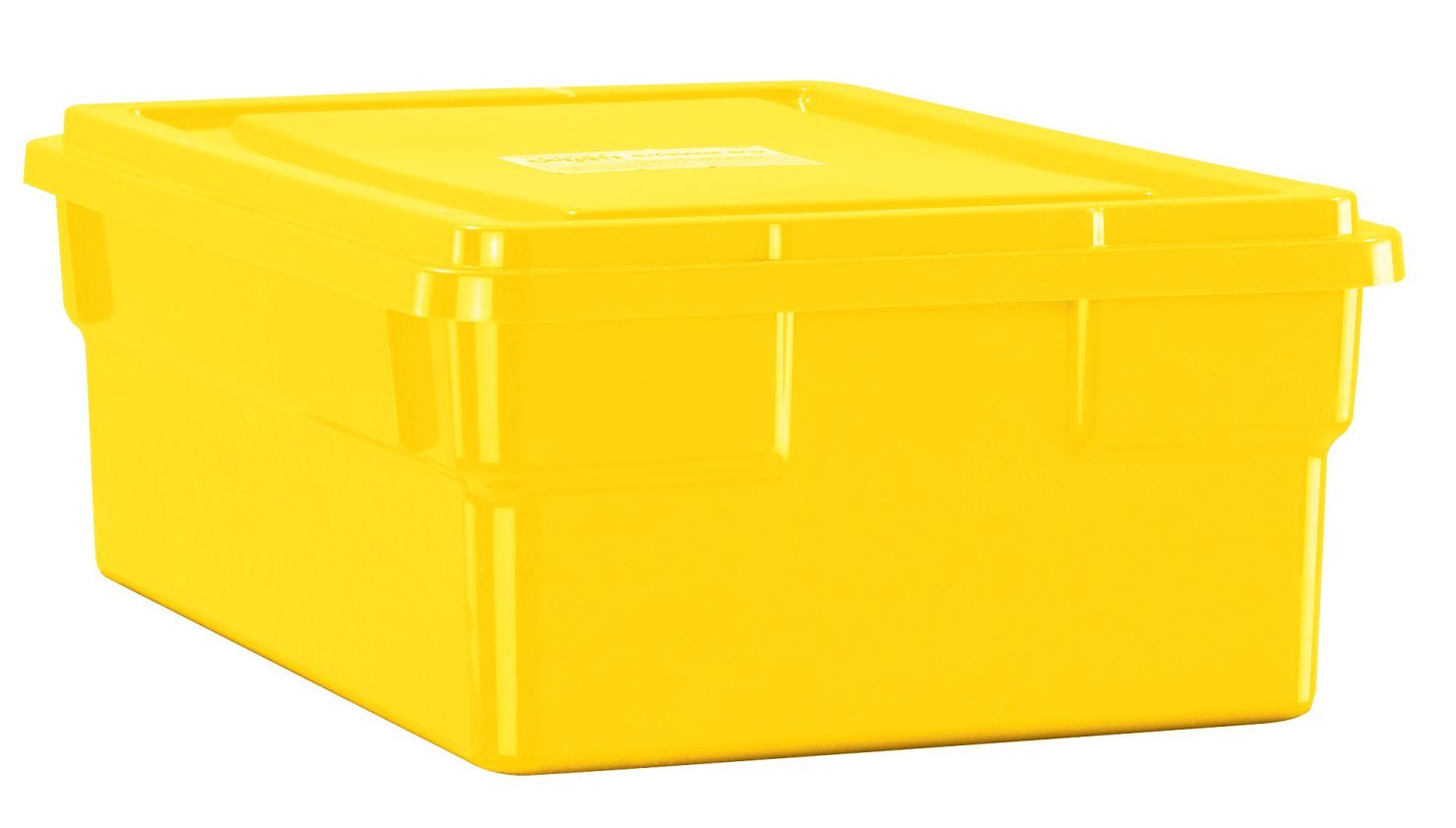 Childcraft Storage Box with Lid - 16 x 11 x 6 inches - Yellow Early Childhood Development Products Amazon.com Industrial u0026 Scientific  sc 1 st  Amazon.com : coloured storage boxes  - Aquiesqueretaro.Com