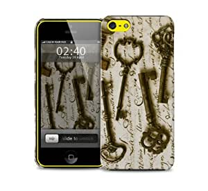 vintage key iPhone 5c protective phone case by supermalls